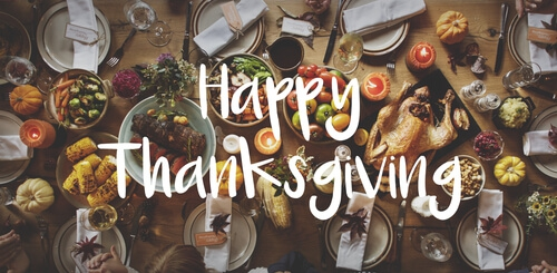 Happy Thanksgiving from Success Mortgage Partners, Inc.
